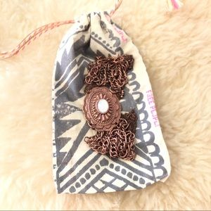 Free People Bolo Necklace